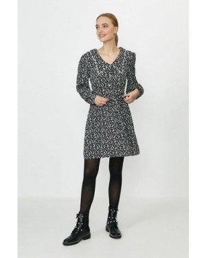 Coast Lace Collar Detail Tea Dress -, Mono