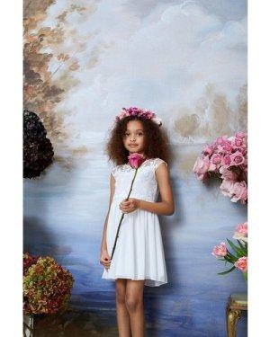 Coast Girls Embroidered Bridesmaids Dress -, Ivory