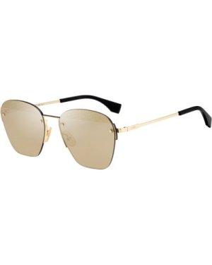 Fendi FFM0057/S J5G/VP Gold/Gold Mirror