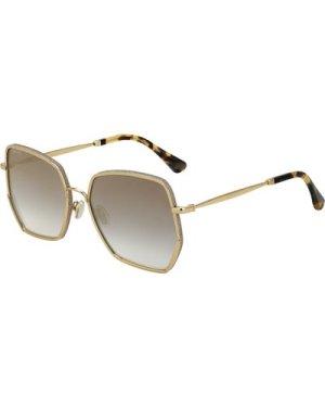 Jimmy Choo Aline/S J5G/FQ Gold/Grey Gradient-Gold Mirror