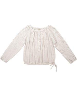 Naia Long Sleeve Blouse Powder pink