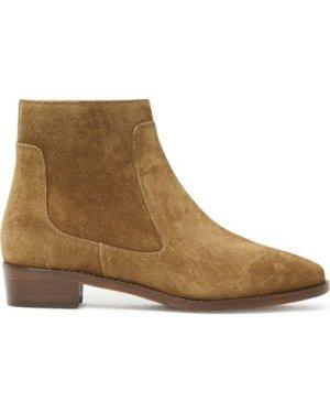 n°67 Velvet Calfskin Ankle Boots