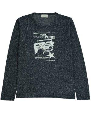 Radio Punk Mottled T-Shirt