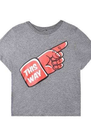 Arrow 'This Way' Organic Cotton T-Shirt