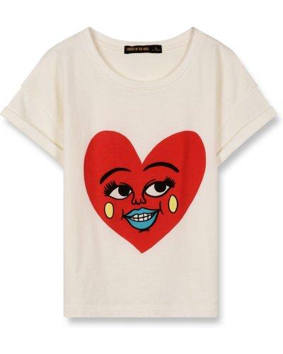 Britney heart T-shirt