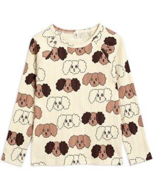 Organic Cotton Dog Long-sleeved T-shirt