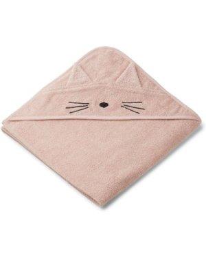 Augusta Cat Organic Cotton Terry Cloth Bath Cape