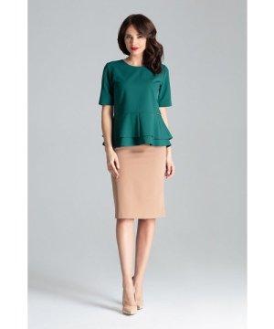 Lenitif Midi Fitted Skirt