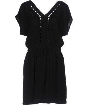 Sessun DRESSES Black Woman Viscose