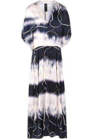 Zero + Maria Cornejo DRESSES Ivory Woman Silk