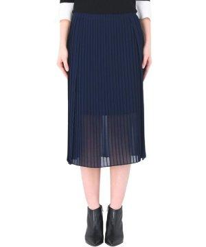 DKNY SKIRTS Dkny Dark blue Woman Polyester