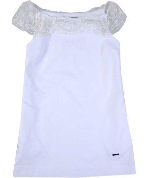 Dsquared2 White Cotton Dress