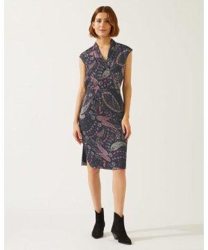 Jigsaw Paisley Tulip Dress