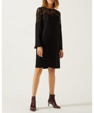 Jigsaw Lace Applique Shift Dress