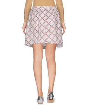 Pepe Jeans Ivory Geometric Print Skirt