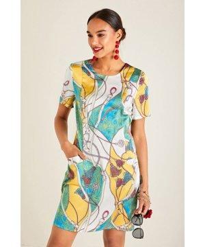 Yumi Tassel Print Tunic