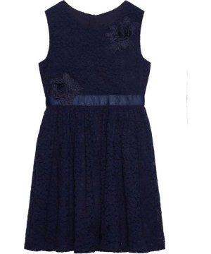 Yumi Lace Flower Corsage Dress