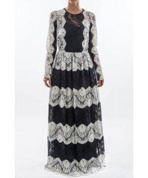 Dolce & Gabbana Women Lace Long Dress