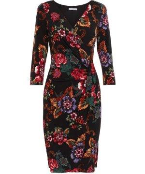Gina Bacconi Cloris Floral Wrap Dress