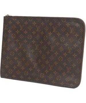 Louis Vuitton preowned Vintage Monogram Poche Documents Portfolio Brown