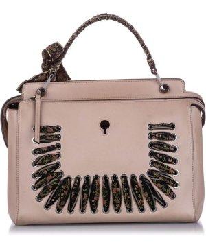 Fendi preowned Vintage DotCom Leather Satchel Pink