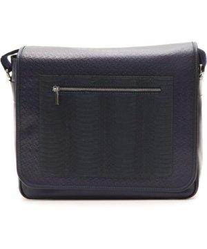 Billion Billionaire Italian Couture Navy Messenger Bag