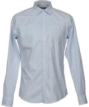 Liu Jo Man Sky Blue Cotton Shirt