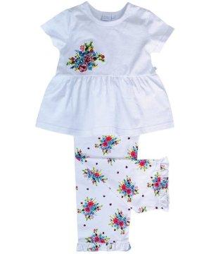 Mini Vanilla Summer Bouquet print pyjamas for Girls