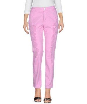 Iceberg Pink Cotton Straight Leg Jeans