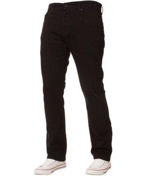 Enzo Mens Regular Fit Stretch Denim Jeans   Designer Menswear