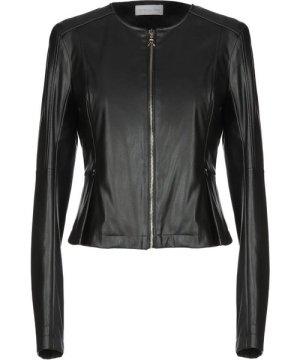 Patrizia Pepe Black Faux Leather Jacket