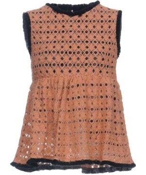 Liviana Conti Sand Sleeveless Knit