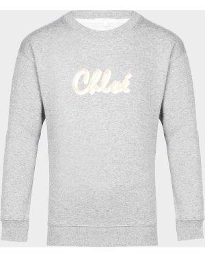 Kid's Chloe Signature Sweatshirt Grey, Grey