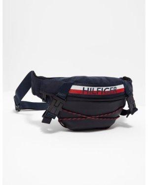 Men's Tommy Hilfiger Bungee Cord Bum Bag Black, Black