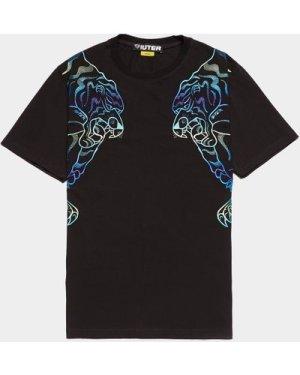 Men's IUTER Nepal Short Sleeve T-Shirt Black, Black