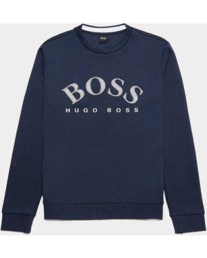 Men's BOSS Salbo Sweatshirt Blue, Blue