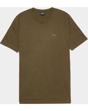 Men's BOSS Lecco Short Sleeve T-Shirt Green, Green