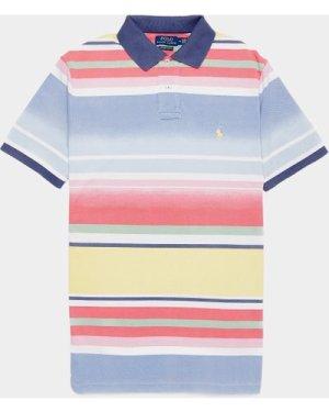 Men's Polo Ralph Lauren Stripe Short Sleeve Polo Shirt Multi, Multi