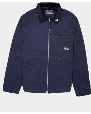 Men's Albam Utility Canvas Jacket Blue, Navy