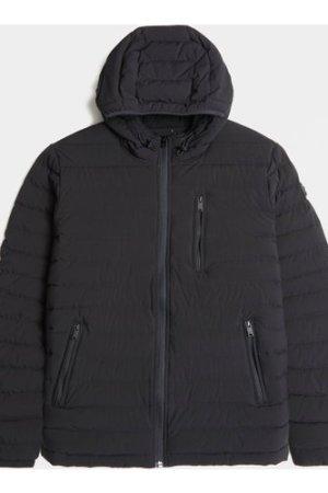 Men's Moose Knuckles Crest Lightweight Jacket Black, Black