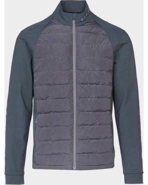 Men's Castore Quilted Panel Jacket Grey, Grey
