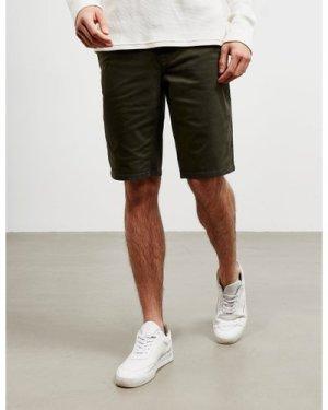 Men's BOSS Schino Slim Shorts Green, Khaki/Khaki