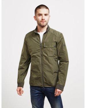 Men's Barbour International Marsden Casual Jacket - Exclusive Green, Green/Green