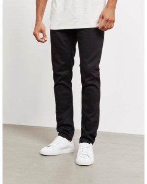Men's Nudie Jeans Co. Lean Dean Slim Jeans Black, Black