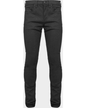 Men's True Religion Small Shoe Skinny Jeans Black, Black/Black