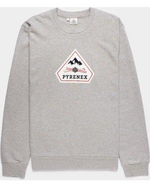 Men's Pyrenex Charles Sweatshirt Grey, Grey