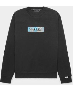 Men's Mallet Iridescent Sweatshirt Black, Black