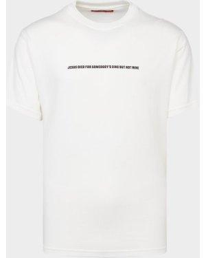 Men's 424 Jesus Sins T-Shirt White, White