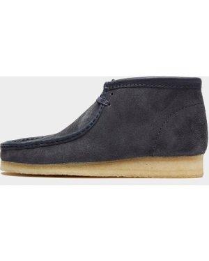 Men's Clarks Originals Wallabee Boot Blue, Navy/Navy