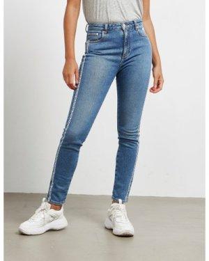 Women's MSGM Skinny Jeans Blue, Blue